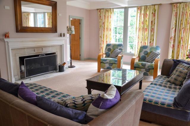 Lounge room at Tipapa Estate
